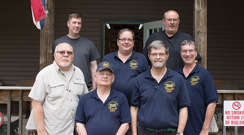 Staff in charge of maintaining The William Hillcourt Scout Museum and Carson Buck Memorial Library.