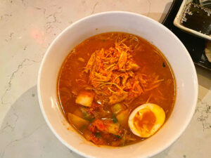 Kasai's diablo ramen was one of the hottest dishes I've enjoyed. And, for as spicy as it was, there was an equal amount of flavor packed in, too.