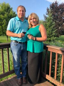 "Sandra J. ""Sandy'' Callahan, 60 and her partner, Bill Hirsh, at their Cicero home."