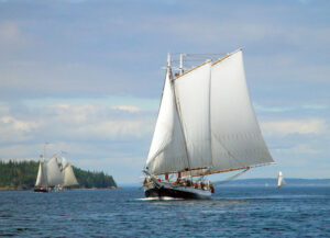 The Grace Bailey is an authentic 19th century sailing ship listed as national landmark.