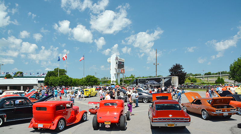 Cars on display at a recent PPG Syracuse Nationals at NYS Fairgrounds in Syracuse. The event is the largest of this type in Central New York with more than 8,000 cars. This year the event will take place July 15 to 17.