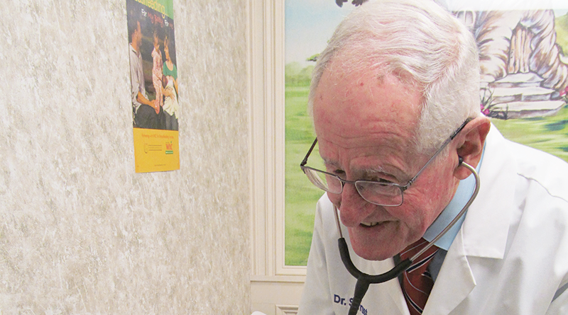 "Pediatrician Stuart Trust has been practicing medicine since 1974. ""I still have a lot to offer. I have four super associates, all pediatricians with far better education. I don't have to work when I don't want to."""