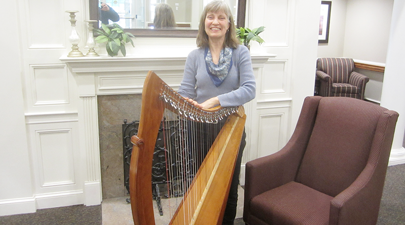 Alexandra Coursen, the runner-up in the recent Hidden Gem international harp concert and composition competition in England.
