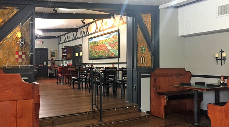 The renovated restaurant is brighter than the old restaurant, but still retains much of the original charm.