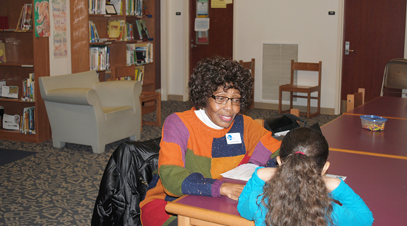 Inette Herndon, a retired National Grid human resources professional, says working with students at McKinley-Brighton Elementary School, on Syracuse's south side, is the most rewarding experience of her life.