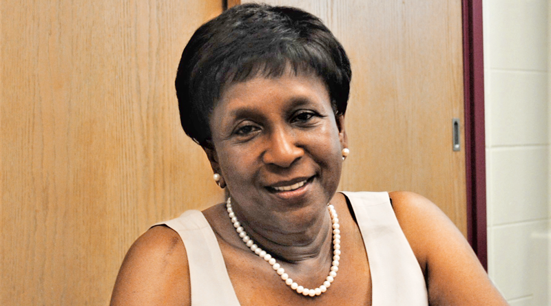 Merriette Pollard, volunteer with The Dunbar Center. The center has served the African-American community in Syracuse for 100 years.