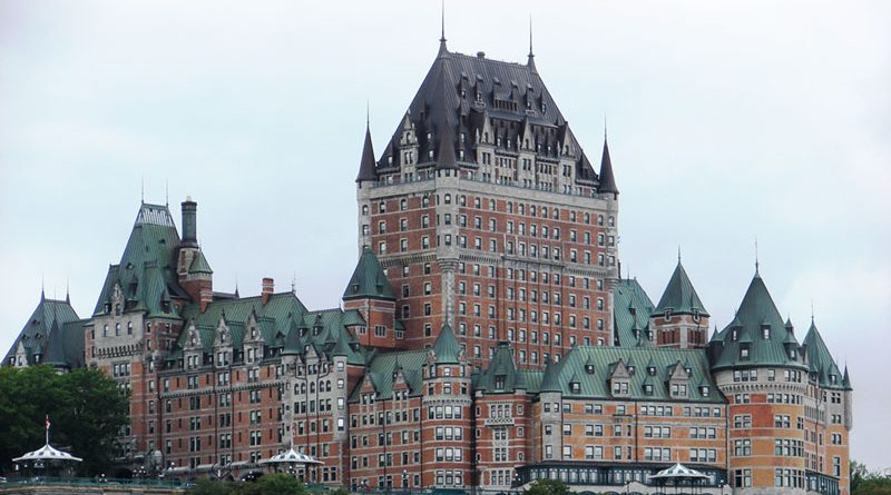 Fairmont Le Chateau Frontenac in the heart of Quebec.