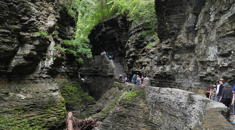 Watkins Glen State Park remains opens for visitation. The Finger Lakes park is one of the most visited in Upstate New York.