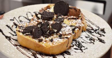 Great dessert: Oreo French toast.