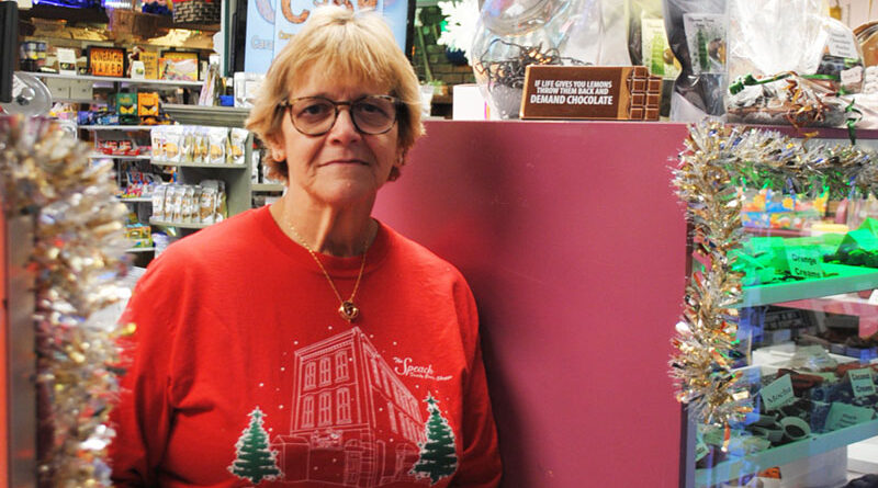 At 65, Sue Speach is still involved in Speach Family Candy Shoppe, a business started in 1920 by her late husband's grandfather Michael Speach