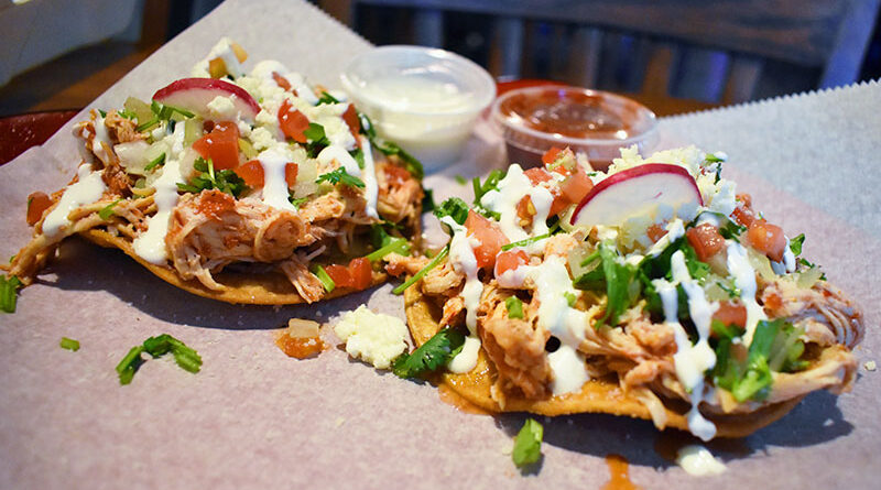 """The critter tinga ($9.90) at Carmelita's: """"The flavor is really freaking delicious."""""""